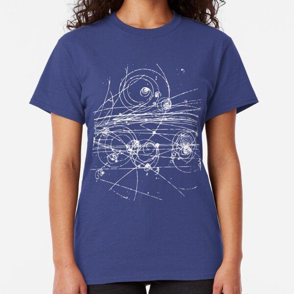 Traces de particules (sombre) T-shirt classique