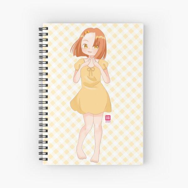 Anne in Summer Dress Spiral Notebook