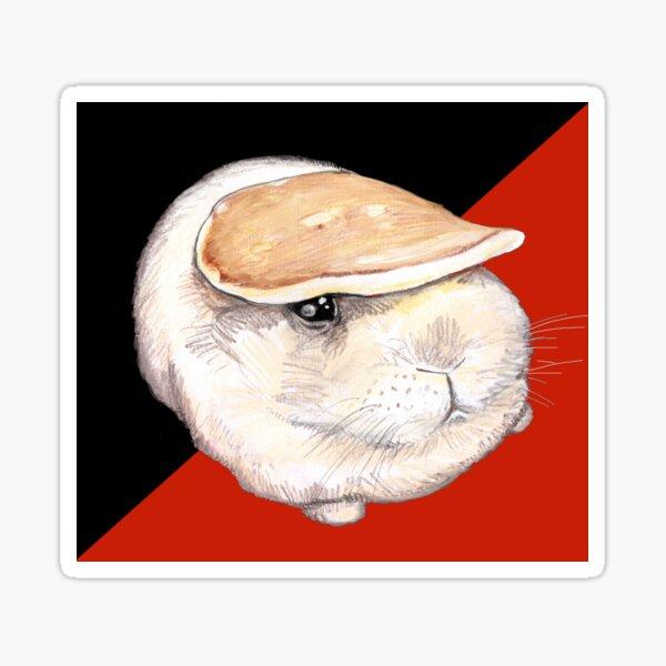 Pancake bunny Sticker