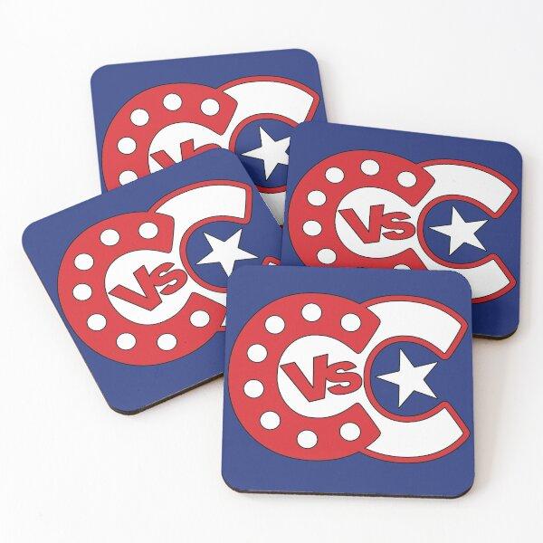 Cabaret vs Caberet - Captain Coasters (Set of 4)