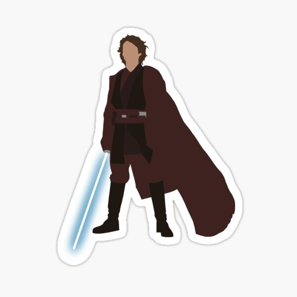The Chosen One Lightsaber  Sticker