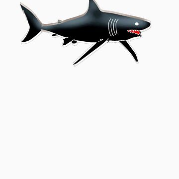shark t-shirt by parko