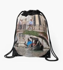 Over and Under Drawstring Bag