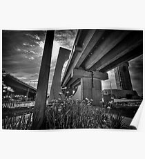 Melbourne Freeway Poster