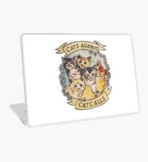 Cats Against Cat Calls Laptop Skin