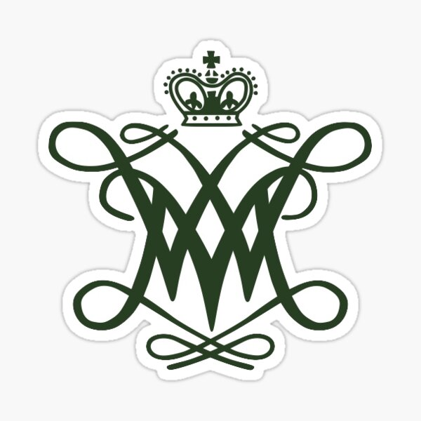 William & Mary Crest Sticker