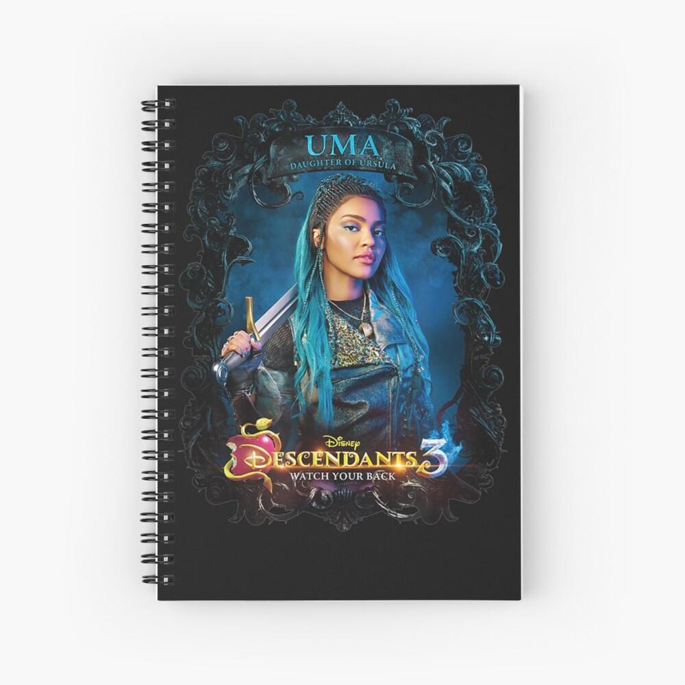 """Descendants.3 Uma Watch Your Back"" Spiral Notebook by ..."