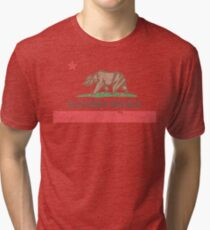 Vintage California Flag Tri-blend T-Shirt