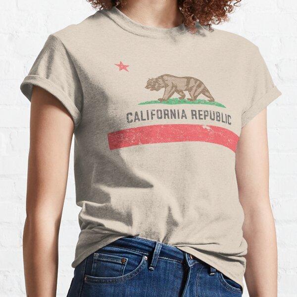 Vintage California Flag Classic T-Shirt