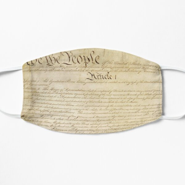 United States Constitution - Original - We the People Mask