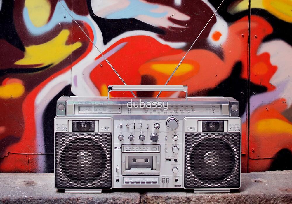 ghettoblaster by dubassy