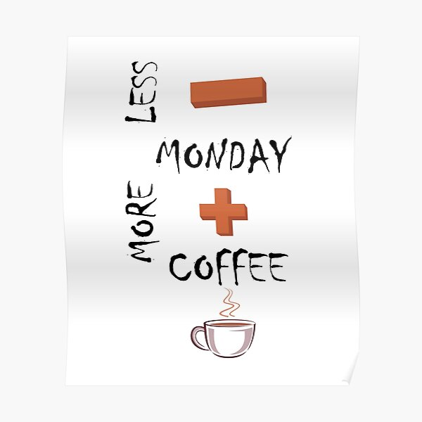 Coffee Svg Posters Redbubble
