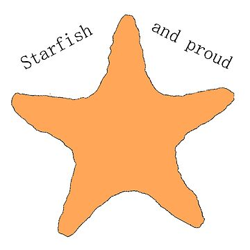 Starfish and proud! by luvlijubli
