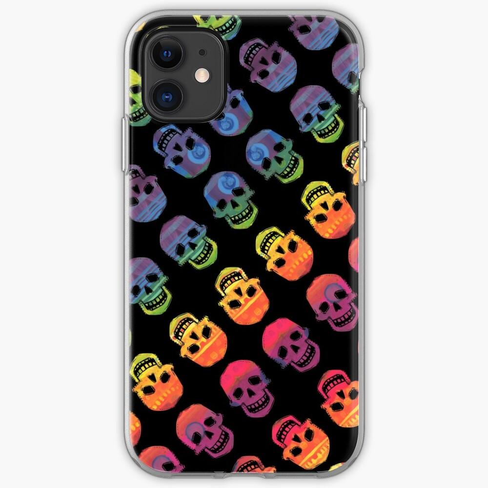Rainbow Skulls Design- 2020 iPhone Case & Cover
