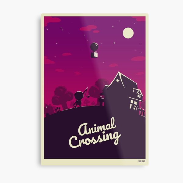 Animal Crossing Metal Print