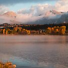 Lake Estes in Fall by John  Sperry