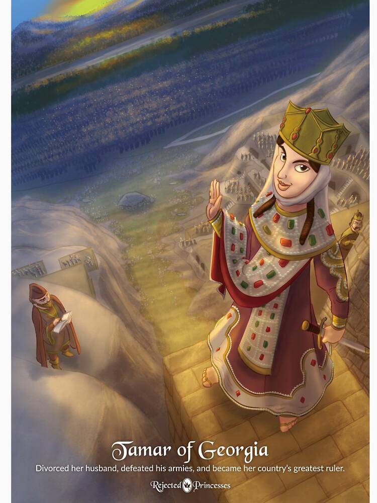 Tamar of Georgia - Rejected Princesses by jasonporath