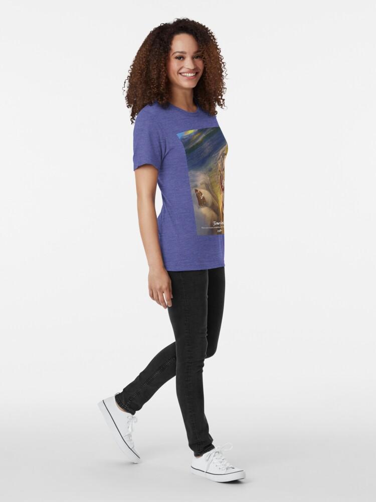 Alternate view of Tamar of Georgia - Rejected Princesses Tri-blend T-Shirt