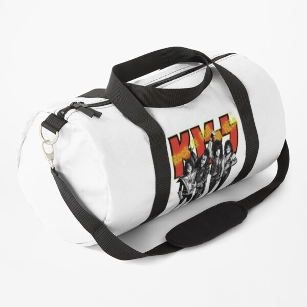 KISS - Rock & Roll All Nite - Full Up Yellow and Red Duffle Bag