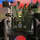 City Plaza-Redux by Dreamscenery