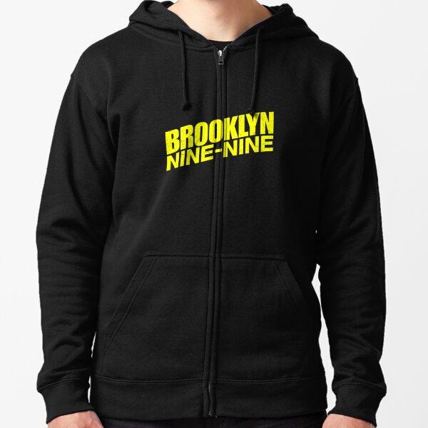 Brooklyn Nine Nine Logo Zipped Hoodie
