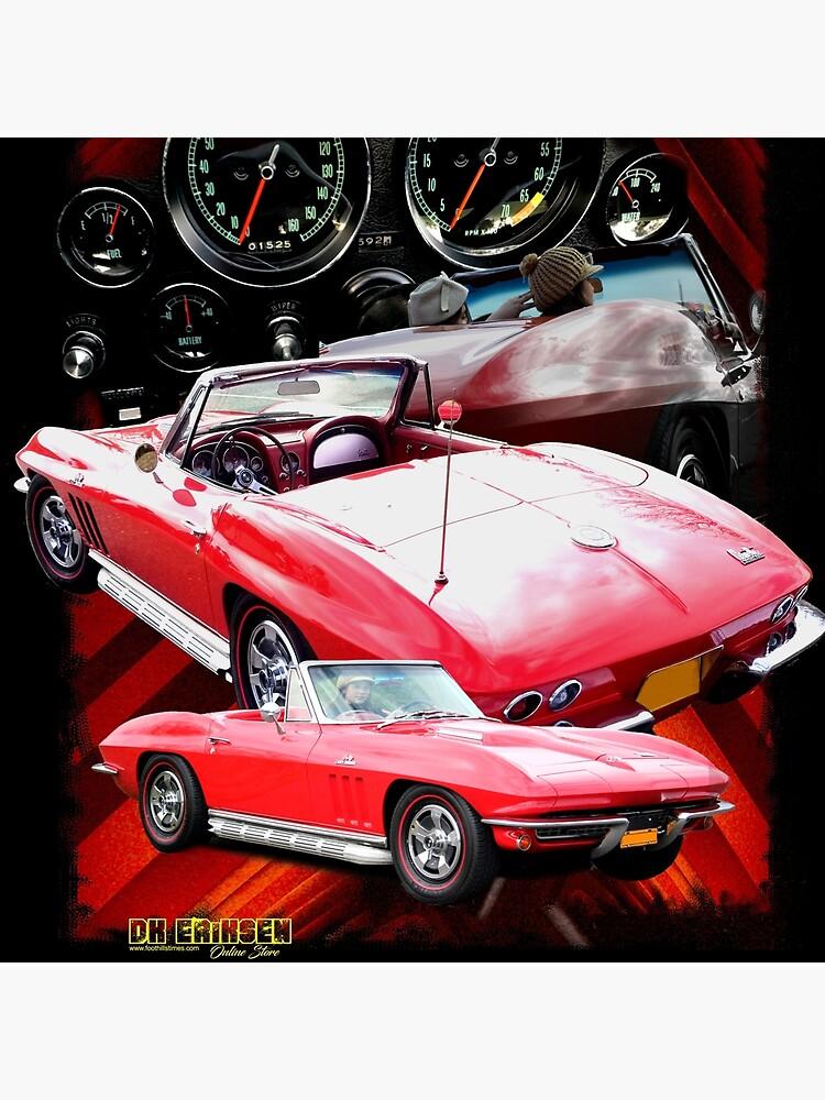 Corvette Classic 1966 by DKEriksenArt