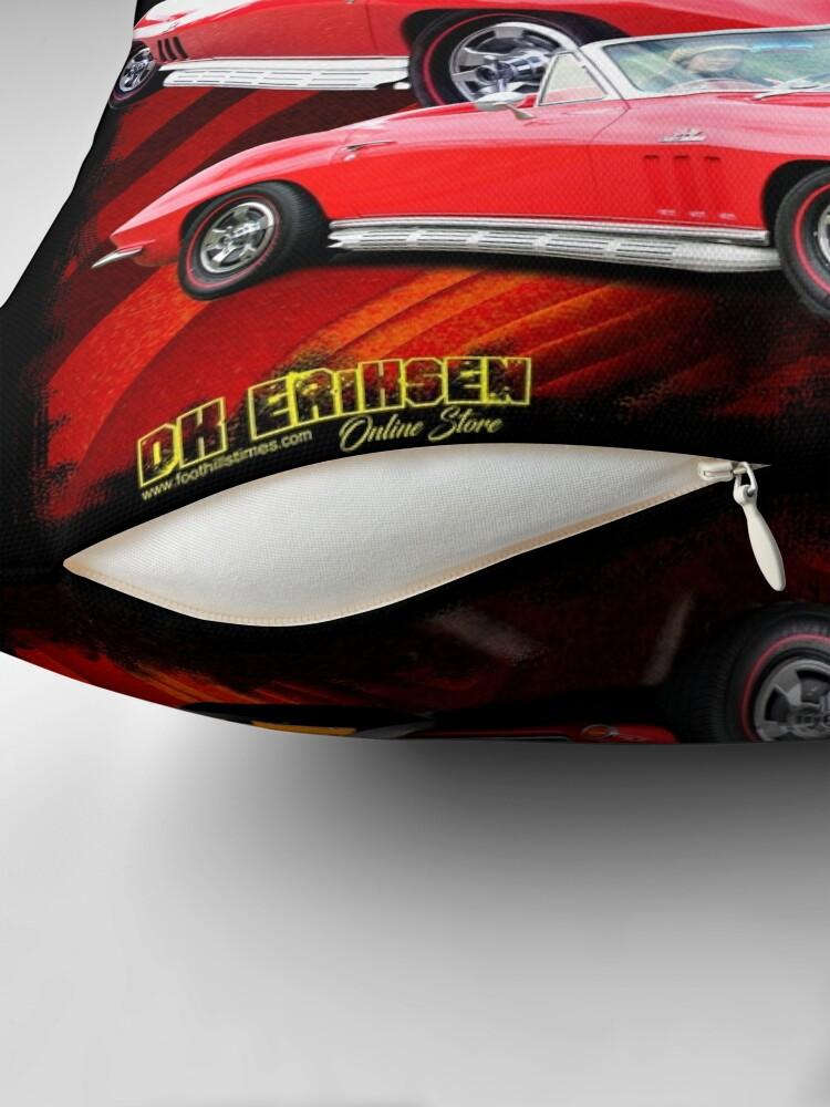 Alternate view of Corvette Classic 1966 Throw Pillow