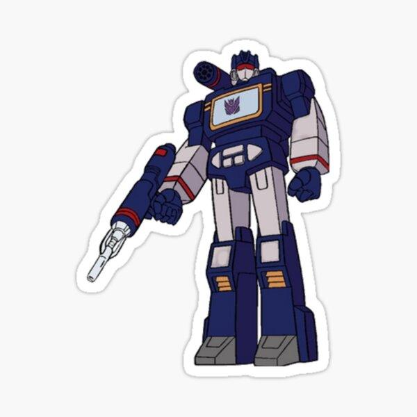 Soundwave Decepticon Transformer Cartoon G1 Sticker