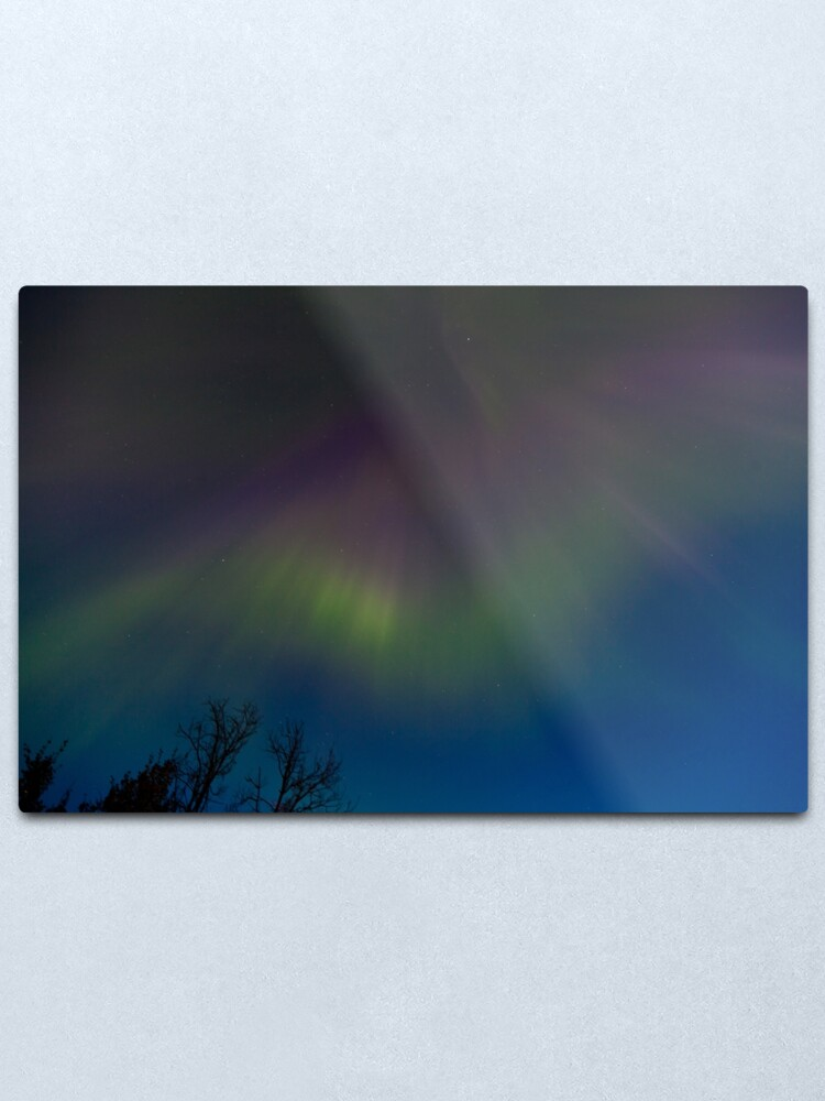 Alternate view of Aurora Borealis Metal Print