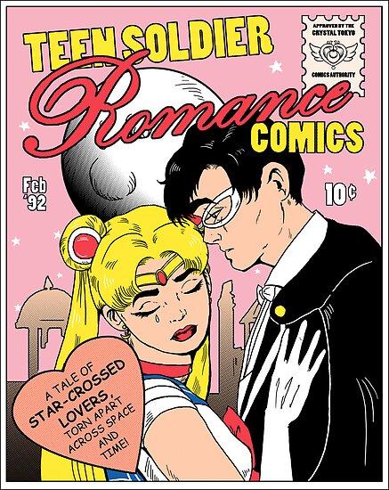 « Teen Soldier Romance Bandes dessinées » par DiHA
