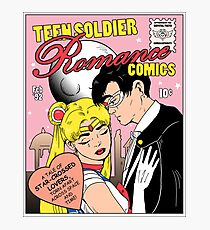 Teen Soldier Romance Comics Photographic Print