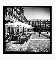 Plaza Mayor in Madrid Photographic Print