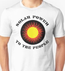 "Earth Day ""Solar Power To The People"" T-Shirt"