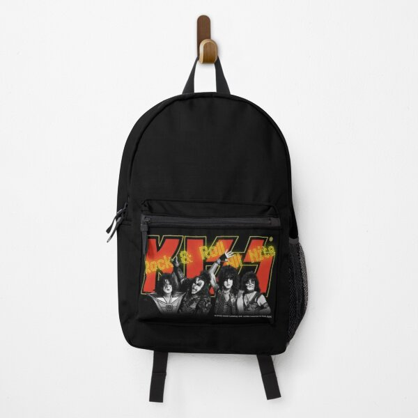 Kiss - Rock & Roll All Nite - Red and Yellow Backpack