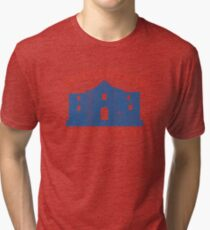 Vintage Alamo Has No Basement Tri-blend T-Shirt