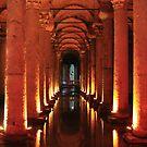The Basilica Cistern by BlackhawkRogue
