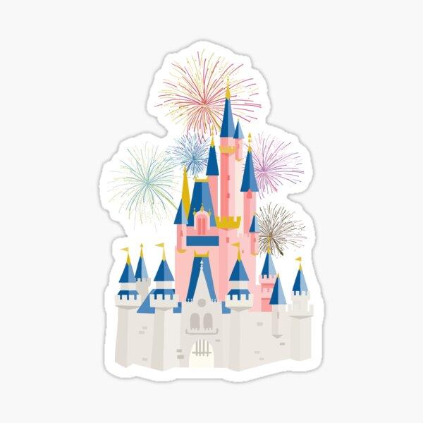 Fairytale Castle Sticker