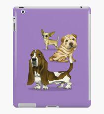 The dogs caricature 01 iPad Case/Skin