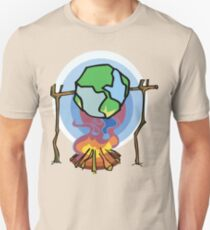 Global Warming Earth Day T-Shirt