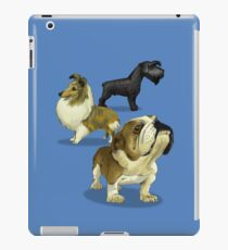 The dogs caricature 02 iPad Case/Skin