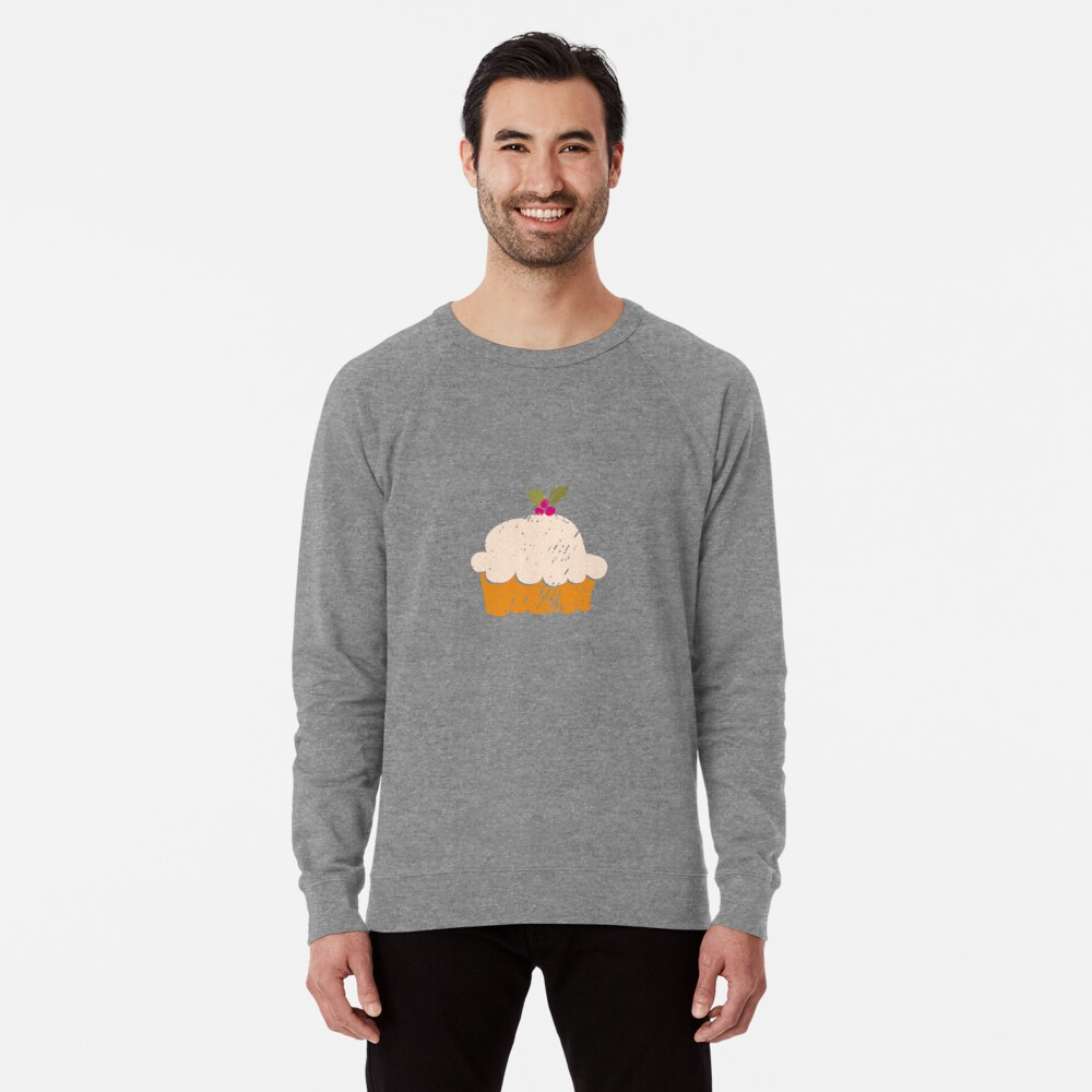 Sweet Cupcake Lightweight Sweatshirt