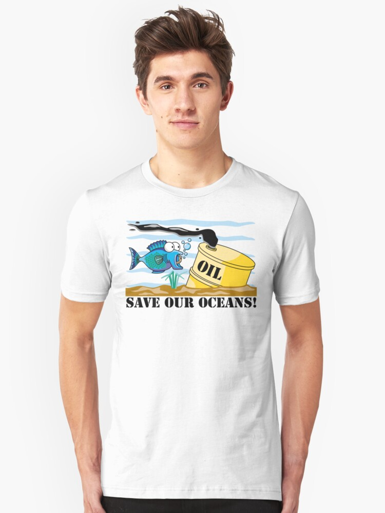 "Earth Day ""Save Our Oceans"" by HolidayT-Shirts"