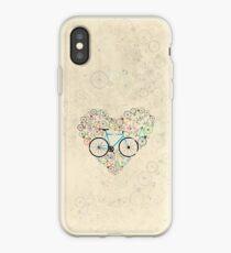 I Love My Bike iPhone Case