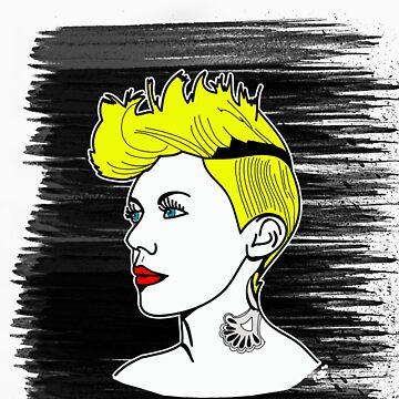 Punk Girl by TatiDuarte
