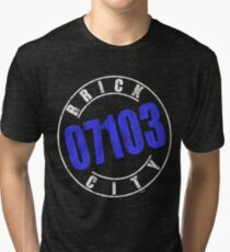 'Brick City 07103' (w) Tri-blend T-Shirt
