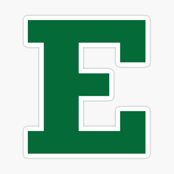 Sticker - 00001 Eastern Michigan University EMU Eagles NCAA Vinyl Decal Laptop Water Bottle Car Scrapbook