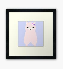 Blushing Betty Framed Print