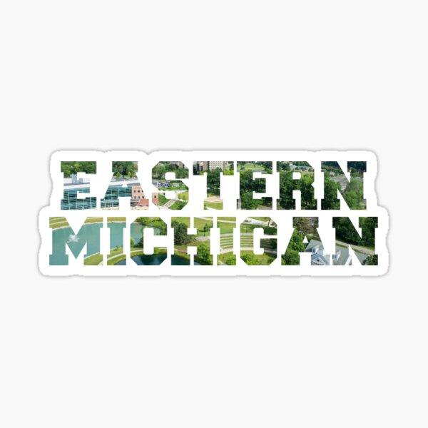Eastern Michigan University Stickers Redbubble
