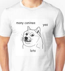 """""""Caninee"""" Meme Design (Premier Meme Collection) T-Shirt"""