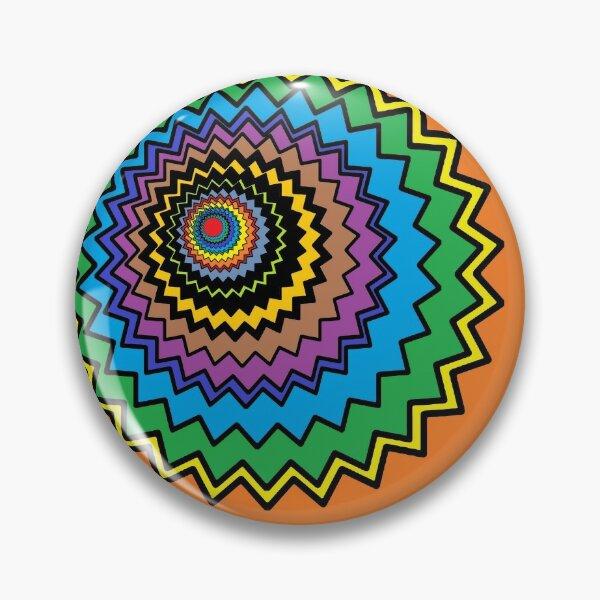 Multicolor Star Pin
